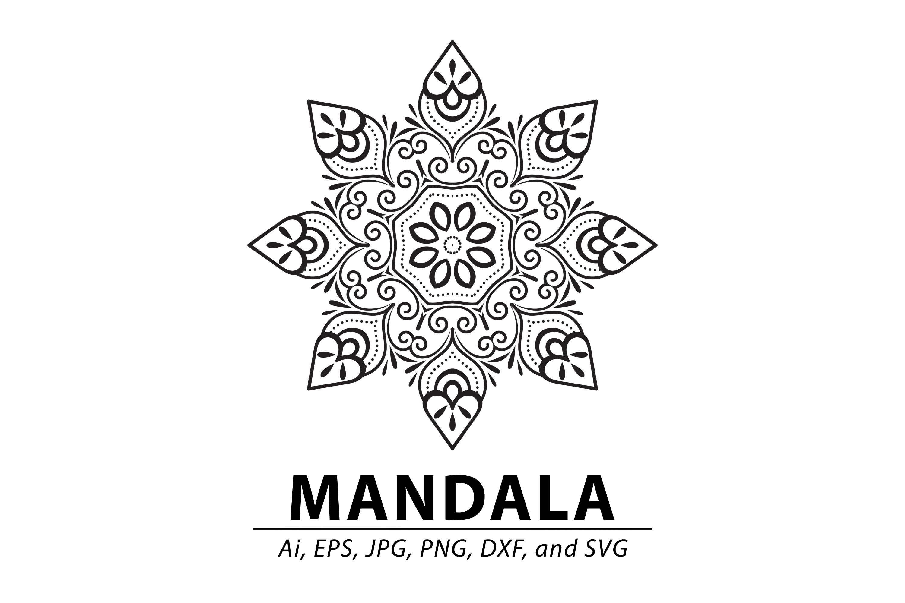 Download Free Mandala Graphic By Redsugardesign Creative Fabrica for Cricut Explore, Silhouette and other cutting machines.