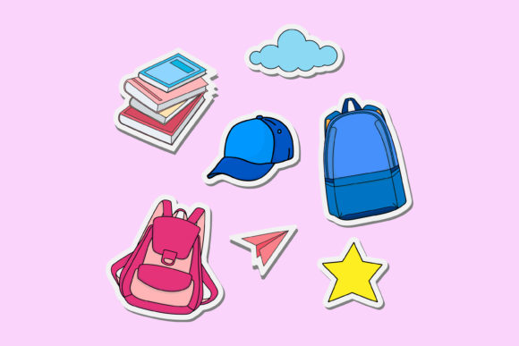Print on Demand: Back to School Illustration Graphic Illustrations By sabavector