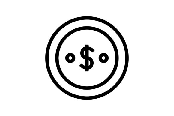 Download Free Dollar Graphic By Muhammadfaisal40 Creative Fabrica for Cricut Explore, Silhouette and other cutting machines.