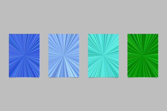 4 Abstract Page Backgrounds Graphic Print Templates By davidzydd - Image 1