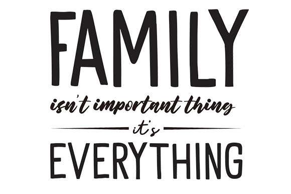 Download Free Family Isn T Important Thing It S All Graphic By Letterdream Std for Cricut Explore, Silhouette and other cutting machines.