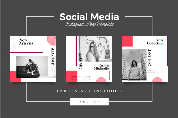 Print on Demand: Fashion Social Media Post Template Graphic Websites By Novendi88