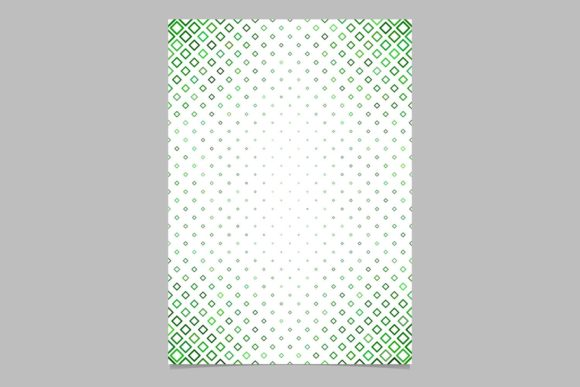 Green Brochure Background Graphic Print Templates By davidzydd - Image 1