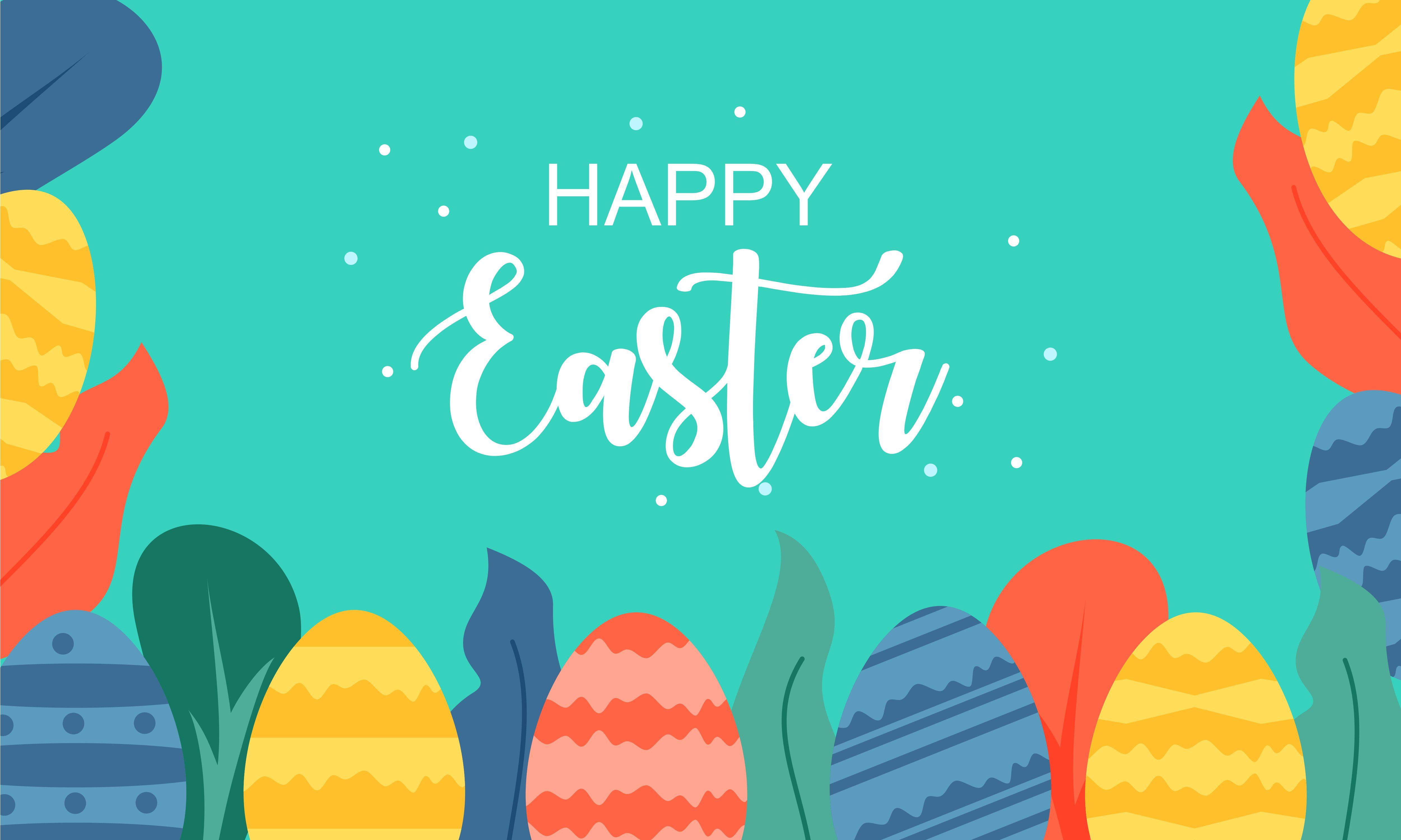 Download Free Happy Easter Day Design Illustration Grafico Por Deemka Studio for Cricut Explore, Silhouette and other cutting machines.