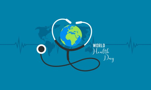 Download Free Happy World Health Day Flat Illustration Graphic By Deemka Studio Creative Fabrica for Cricut Explore, Silhouette and other cutting machines.