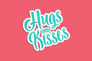 Hugs and Kisses Graphic Crafts By Chairul Ma'arif