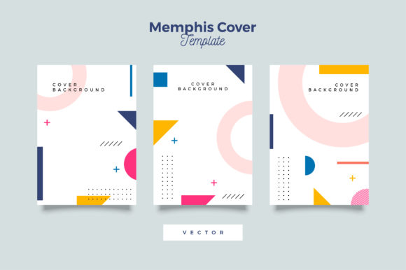 Download Free Retro Bauhaus Cover Design Graphic By Novendi88 Creative Fabrica for Cricut Explore, Silhouette and other cutting machines.