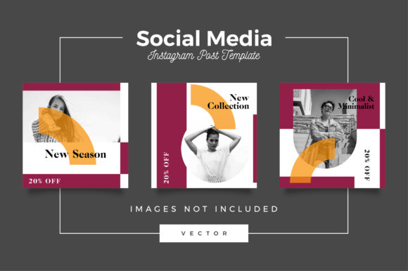 Print on Demand: Social Media Post Template Graphic Websites By Novendi88 - Image 1
