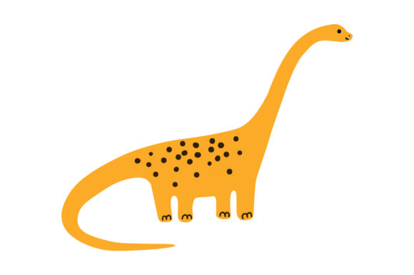 Brontosaurus Dinosaurs Craft Cut File By Creative Fabrica Crafts