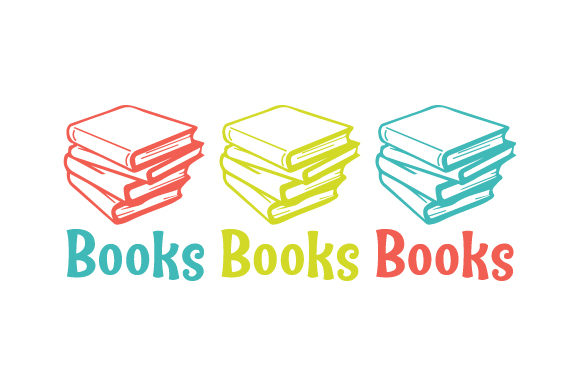 Download Free Books Books Books Svg Cut File By Creative Fabrica Crafts for Cricut Explore, Silhouette and other cutting machines.