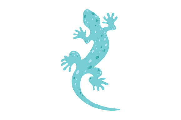 Gecko Animals Craft Cut File By Creative Fabrica Crafts - Image 1