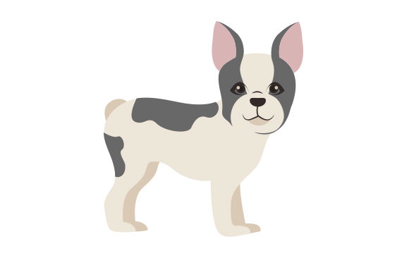 French Bulldog Dogs Craft Cut File By Creative Fabrica Crafts - Image 1