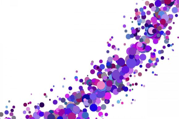 Abstract Purple Confetti Graphic Backgrounds By davidzydd