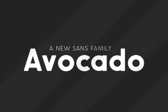 Print on Demand: Avocado Family Sans Serif Font By Salt & Pepper Designs