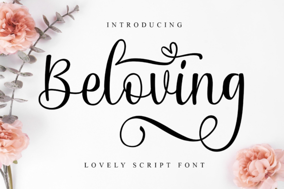 Print on Demand: Beloving Script & Handwritten Font By MJB Letters