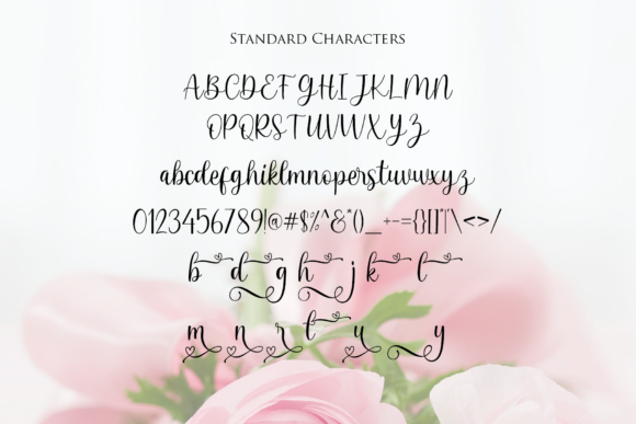 Print on Demand: Beloving Script & Handwritten Font By MJB Letters - Image 8