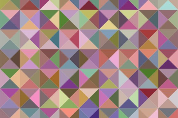 Colorful Pastel Triangle Graphic Backgrounds By davidzydd