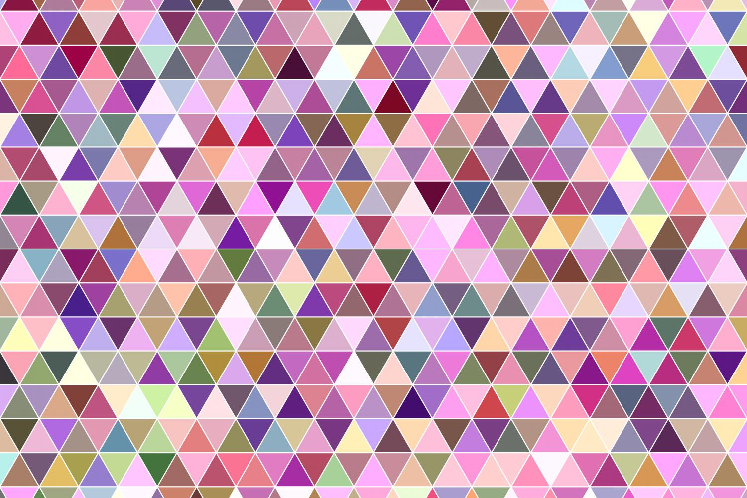 Download Free Colorful Triangle Polygon Graphic By Davidzydd Creative Fabrica for Cricut Explore, Silhouette and other cutting machines.