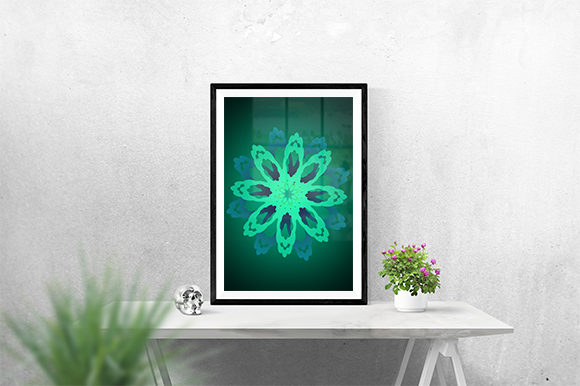 Print on Demand: Creative Flower Poster Graphic Graphic Templates By creativesya