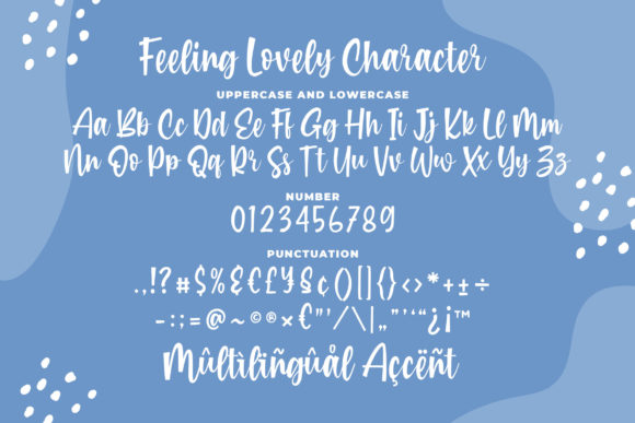 Print on Demand: Feeling Lovely Script & Handwritten Font By Blankids Studio - Image 6