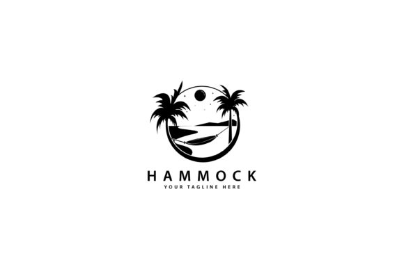 Print on Demand: Hammock Design Graphic Graphic Templates By sabavector