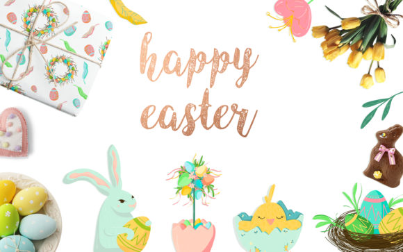Print on Demand: Happy Easter Collection Graphic Illustrations By Zolotovaillustrator