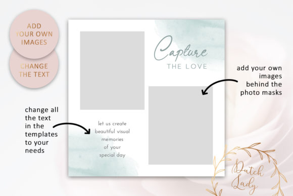 Download Free Instagram Post Template Graphic By Daphnepopuliers Creative for Cricut Explore, Silhouette and other cutting machines.