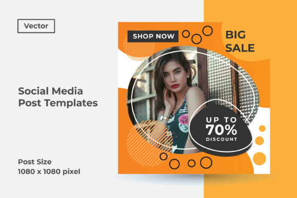 Instagram Social Media Post Template Graphic By Dendysign Creative Fabrica