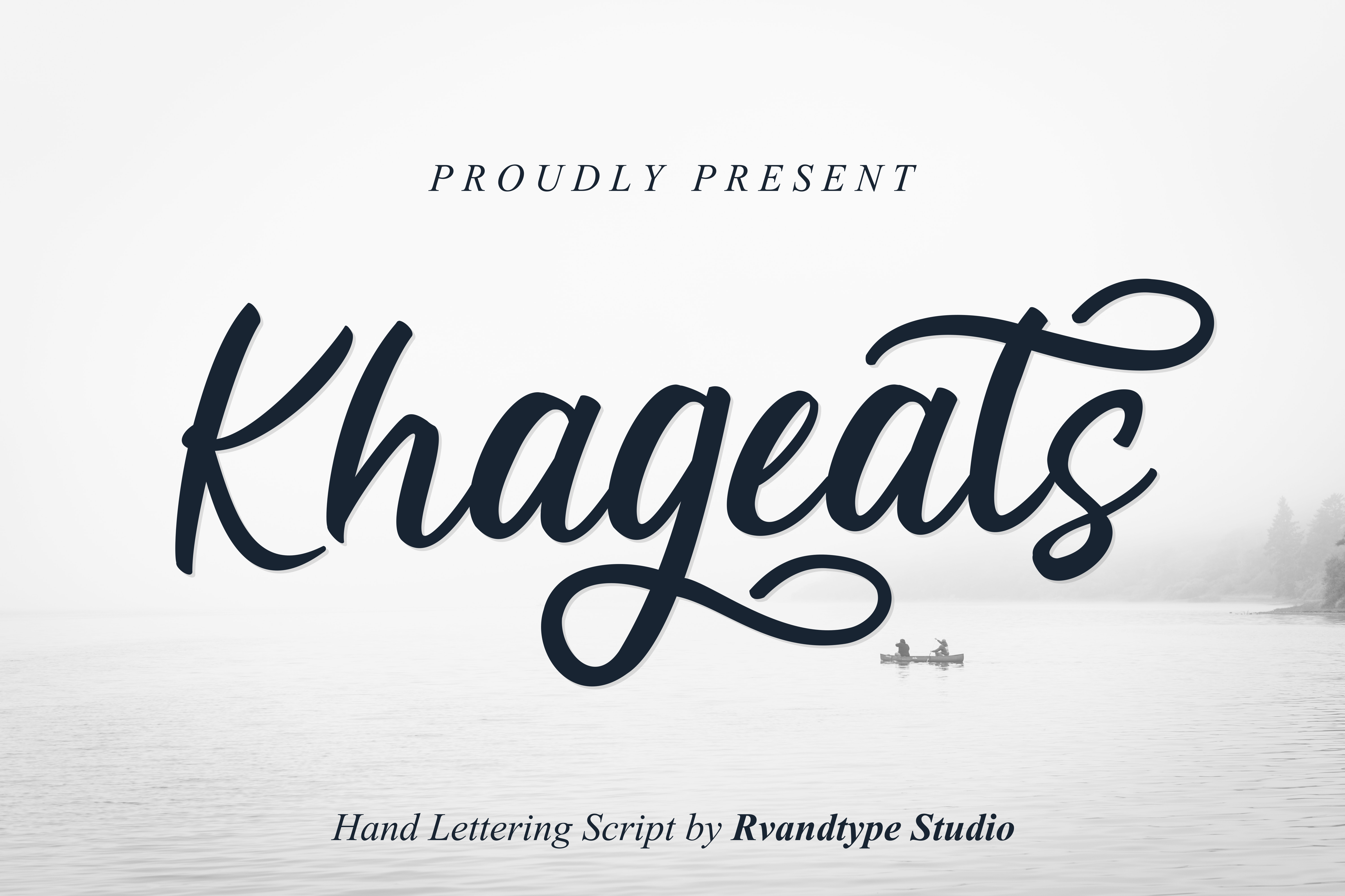 Download Free Khageats Font By Rvandtype Creative Fabrica for Cricut Explore, Silhouette and other cutting machines.