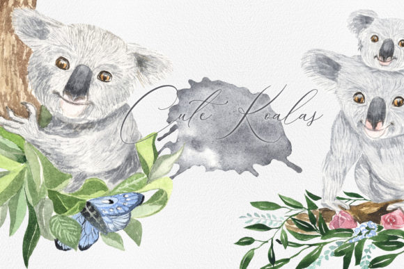 Print on Demand: Koala Graphic Illustrations By laffresco04