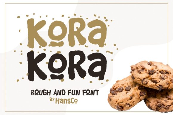 Print on Demand: Kora Kora Display Font By HansCo