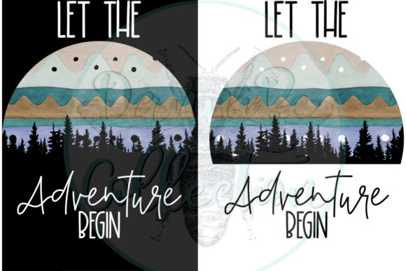 Download Free Let The Adventure Begin Graphic By Dannibe7 Creative Fabrica for Cricut Explore, Silhouette and other cutting machines.