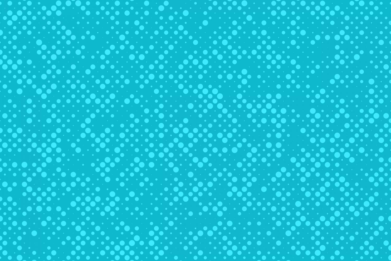 Download Free Light Blue Halftone Dot Pattern Graphic By Davidzydd Creative for Cricut Explore, Silhouette and other cutting machines.