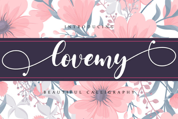 Print on Demand: Lovemy Script & Handwritten Font By almarkhatype