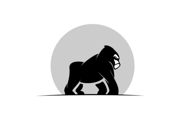 Download Free Monkey Logo Graphic By Skyacegraphic0220 Creative Fabrica for Cricut Explore, Silhouette and other cutting machines.