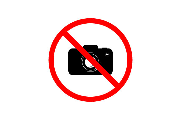 Download Free No Camera Sign Graphic By Curutdesign Creative Fabrica for Cricut Explore, Silhouette and other cutting machines.