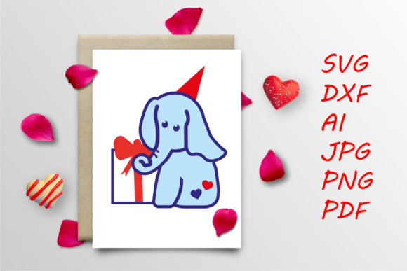 Print on Demand: Party Elephant Graphic Crafts By Tanja Dianova