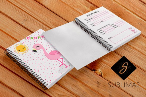 Download Free Printable Homework Notebook Graphic By Kenia Porcayo Creative for Cricut Explore, Silhouette and other cutting machines.