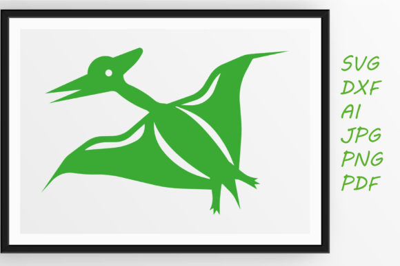 Print on Demand: Pteranodon Graphic Crafts By Tanja Dianova