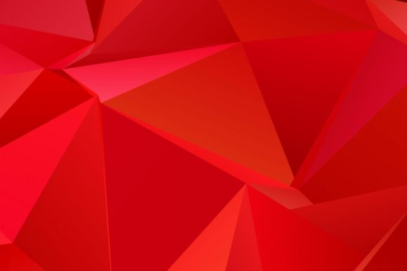 Red Chaotic Triangle Graphic Backgrounds By davidzydd