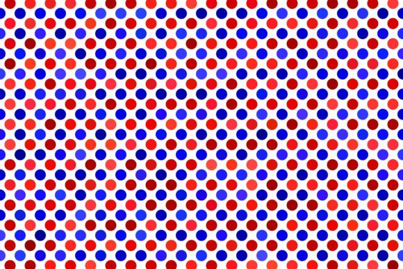 Download Free Red And Blue Polka Dot Pattern Graphic By Davidzydd Creative for Cricut Explore, Silhouette and other cutting machines.