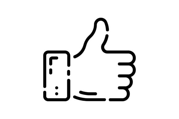 Download Free Thumbs Up Graphic By Khld939 Creative Fabrica for Cricut Explore, Silhouette and other cutting machines.