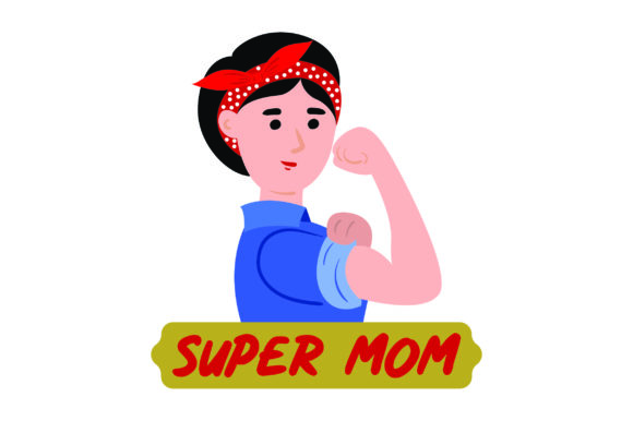 Super Mom Mother's Day Craft Cut File By Creative Fabrica Crafts