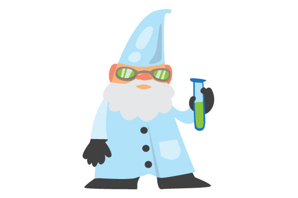 Download Free Scientist Gnome Svg Cut File By Creative Fabrica Crafts for Cricut Explore, Silhouette and other cutting machines.