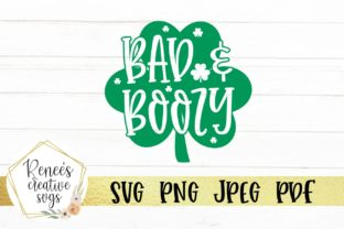 Download Free Bad And Boozy Graphic By Reneescreativesvgs Creative Fabrica for Cricut Explore, Silhouette and other cutting machines.