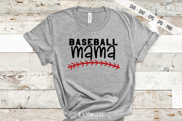 Download Free Baseball Mama Graphic By Lemonade Design Co Creative Fabrica for Cricut Explore, Silhouette and other cutting machines.