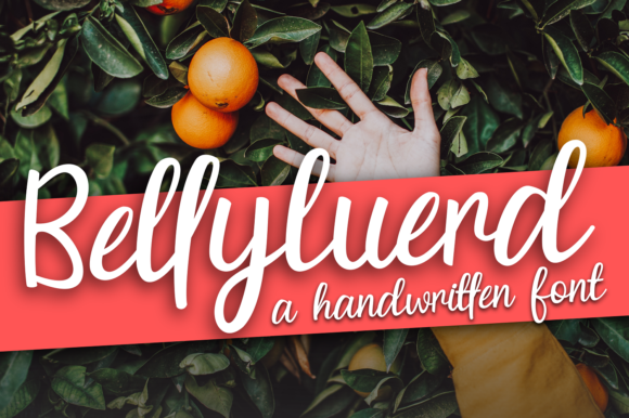 Print on Demand: Bellyluerd Script & Handwritten Font By Rvandtype