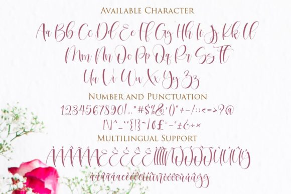 Print on Demand: Betharia Script & Handwritten Font By Gilar Studio - Image 2