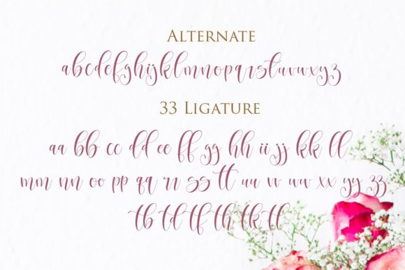 Print on Demand: Betharia Script & Handwritten Font By Gilar Studio - Image 3