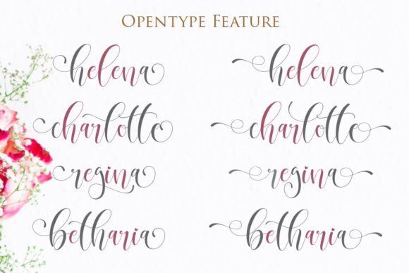 Print on Demand: Betharia Script & Handwritten Font By Gilar Studio - Image 5